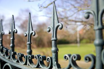 Alter Antiker Zaun