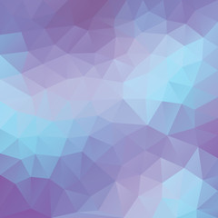 Abstract low poly background, vector