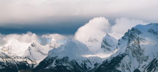Зима горы Альпы Нендаз