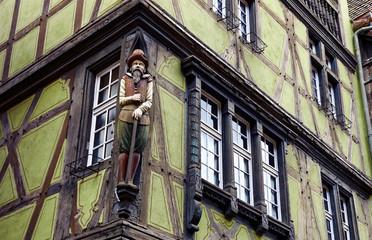 Maison à colombage Médiévale