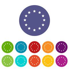 European Union flat icon