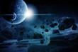 Planet explosion apocalypse - 77832151