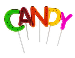 Candy lollypop