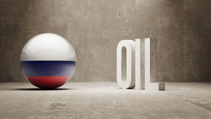 Russia. Oil Concept.