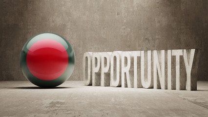 Bangladesh. Opportunity Concept.
