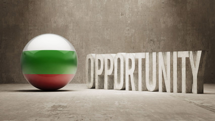 Bulgaria. Opportunity Concept.
