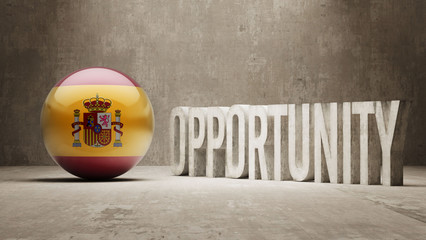 Spain. Opportunity Concept.