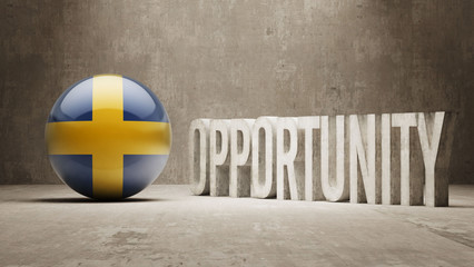 Sweden. Opportunity Concept.