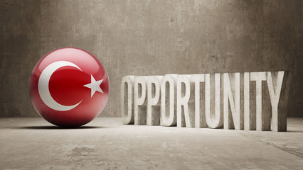 Turkey. Opportunity Concept.