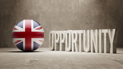 United Kingdom. Opportunity Concept.