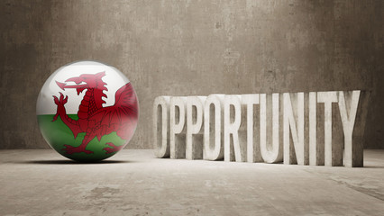 Wales. Opportunity Concept.