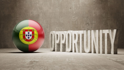 Portugal. Opportunity Concept.
