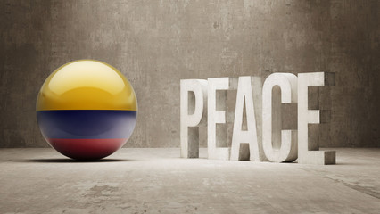 Colombia. Peace Concept.