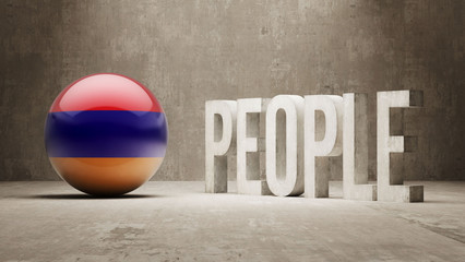 Armenia. People Concept.