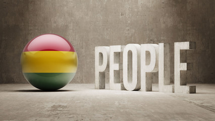 Bolivia. People Concept.