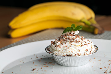 Banana Caramel Pastry Cup