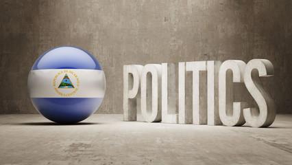 Nicaragua. Politics Concept.