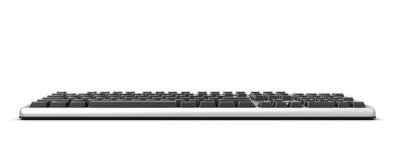 3d illustration Keyboard