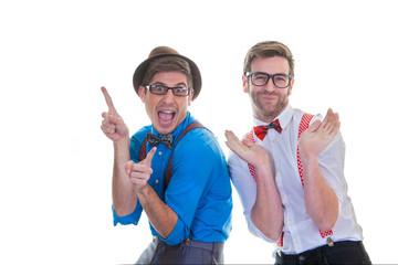 goofy business men