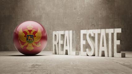 Montenegro. Real Estate Concept.