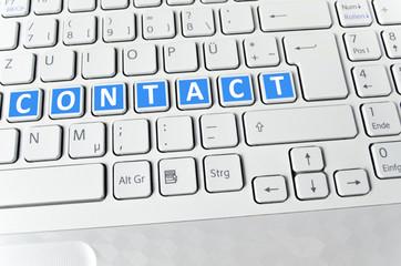 Helle Tastatur: Contact