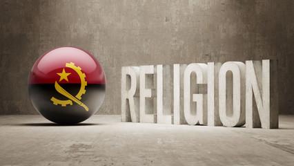 Angola. Religion Concept.