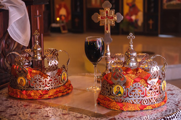Wedding  Crowns and accessories in the Orthodox Church