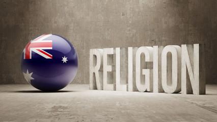 Australia. Religion Concept.