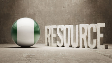 Nigeria. Resource Concept.