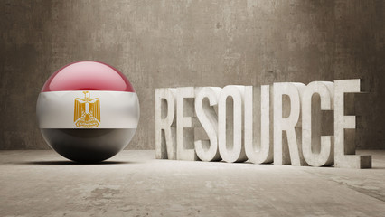 Egypt. Resource Concept.