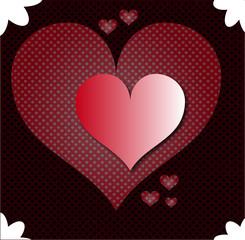 valentine love texture heart