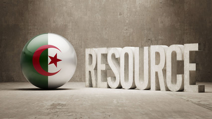 Algeria. Resource Concept.