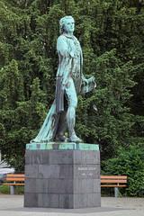 Friedrich Schiller monument in Mannheim, Germany