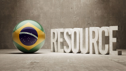 Brazil. Resource Concept.