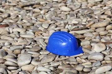 Casco blu