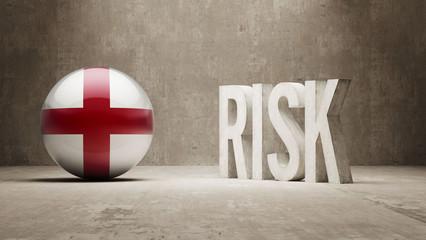 England. Risk Concept.