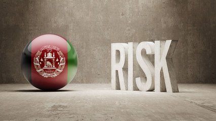 Afghanistan. Risk Concept.