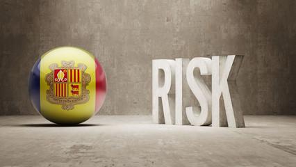 Andorra. Risk Concept.
