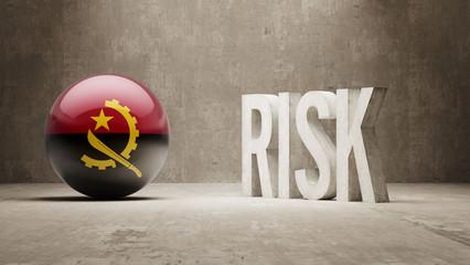 Angola. Risk Concept.