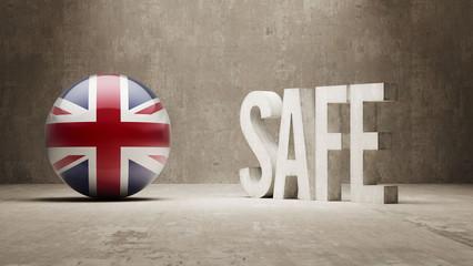 United Kingdom. Safe Concept.