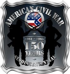 American Civil War 150th Anniversary Badge