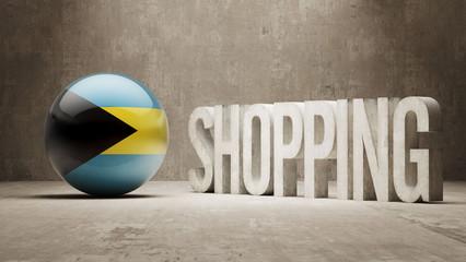 Bahamas. Shopping Concept.