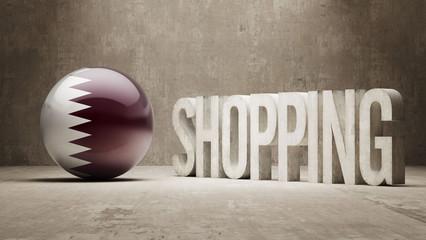Qatar. Shopping Concept.