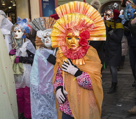 Carnevale Prague 2015 at the Old Town Square