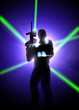 Laser tag background