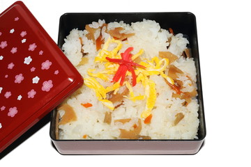 家庭のちらし寿司