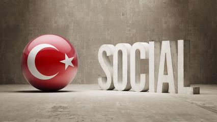 Turkey. Social Concept.