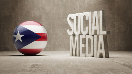 Puerto Rico. Social Media.
