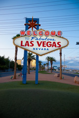 The Welcome to Fabulous Las Vegas neon sign