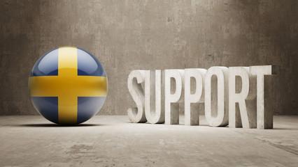 Sweden. Support Concept.
